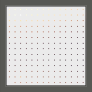 Motiv Quadrate auf Fensterfolie