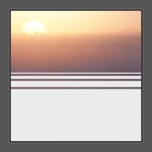 Motiv Streifen auf Fensterfolie