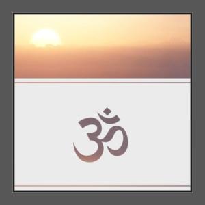 Motiv Aum Hinduismus Om auf Fensterfolie