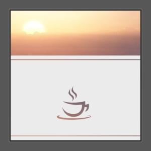 Motiv Cafe oder Kaffee auf Fensterfolie