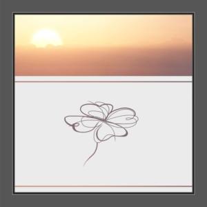 Motiv Blumen oder Blumenladen auf Fensterfolie