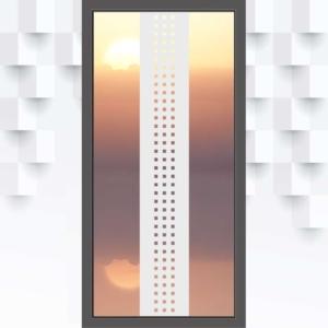 Motiv Quadrate auf Sichtschutzfolie