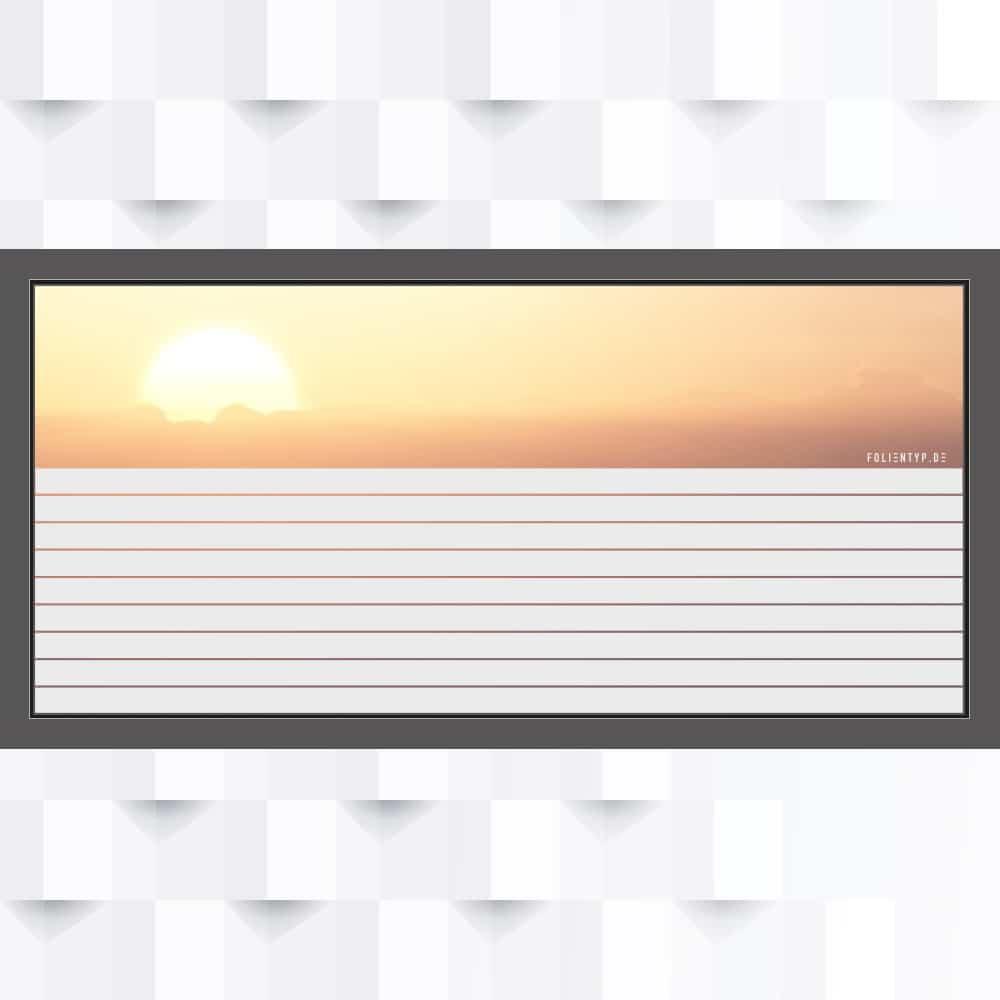 Motiv Streifen 55 mm Breite auf Fensterfolie
