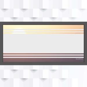 Motiv Balken mit schmalen Linien auf Fensterfolie