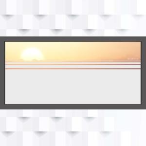 Motiv Fläche mit Linien auf Fensterfolie
