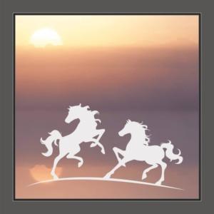 Fenstersticker Pferde